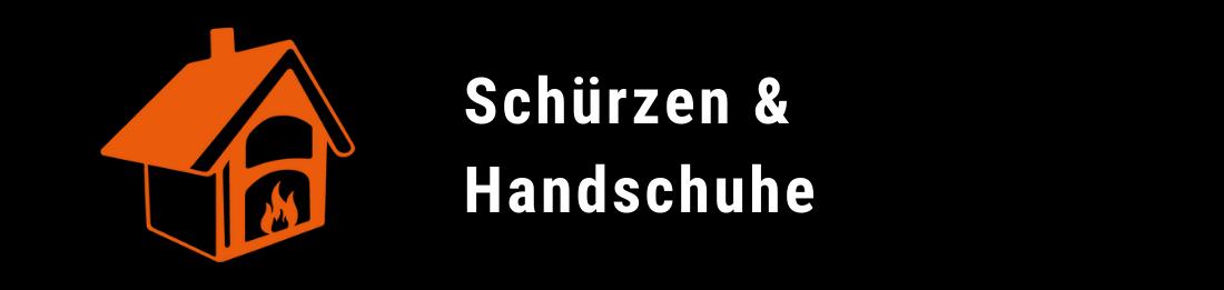 Schürzen und Handschuhe