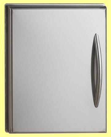 Edelstahl Einbau-Türe N370-0361-1