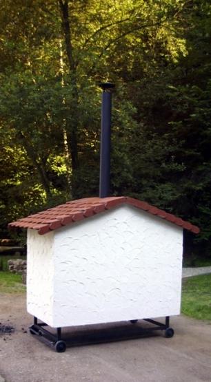 Holzbackofen / Großraumofen Jumbo (V 400.1)