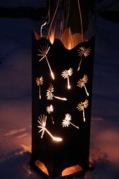 Feuersäule Pusteblume S 1200