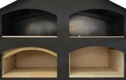 Schamottegewölbe für Ofen