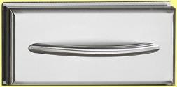 Edelstahl Einbau-Schublade N370-0359