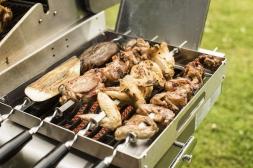Napoleon Shish Kebab Set mit Halterung     70014